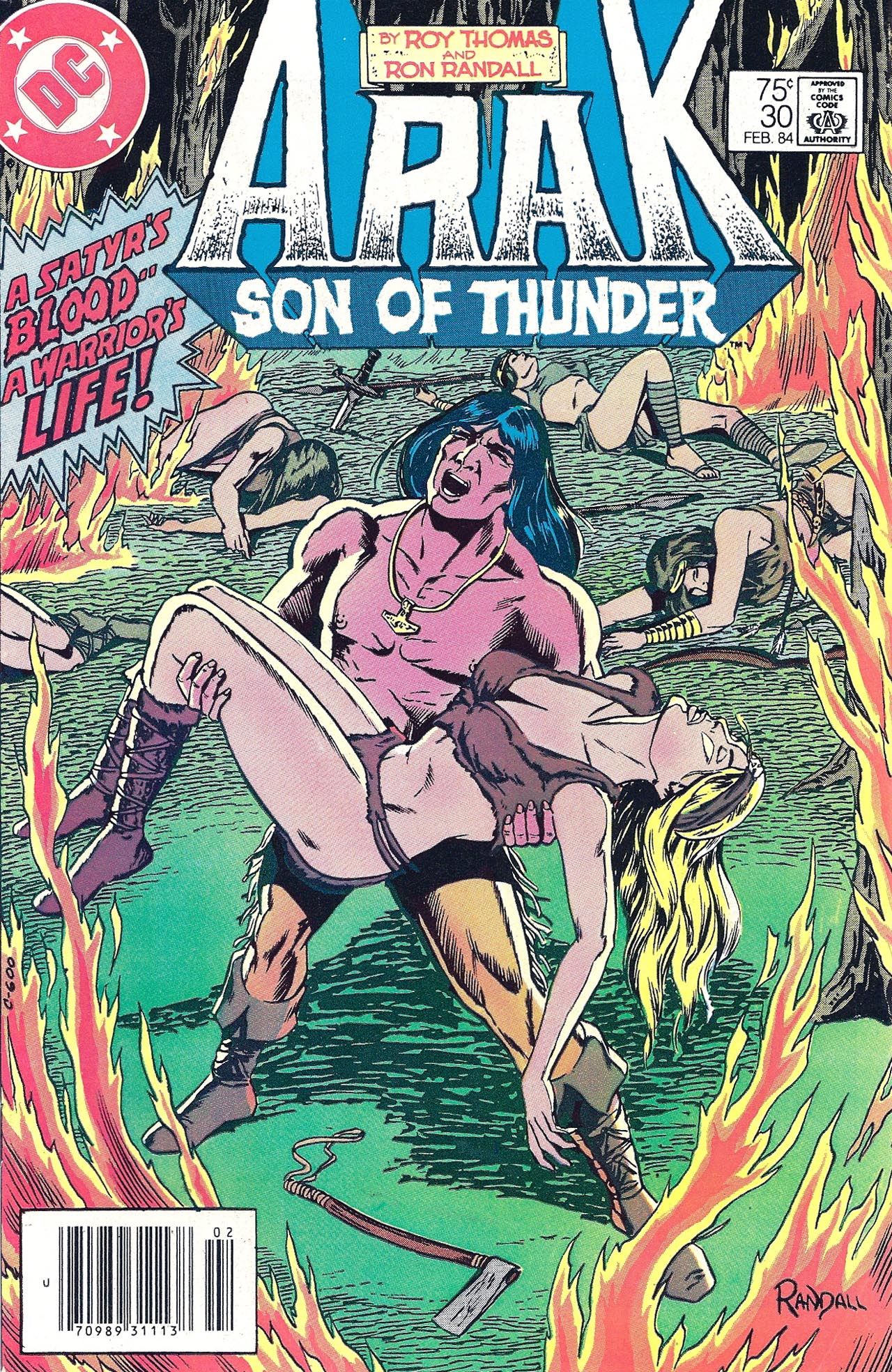 Arak Son of Thunder 30 Page 1
