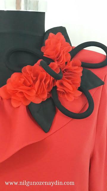 www.nilgunozenaydin.com-kişiye özel tasarım-haute couture-bluz modelleri-kırmızı bluz-red blouses