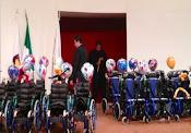 Entrega PM/VJM 20 Sillas a niños del CRIT FEB 2013