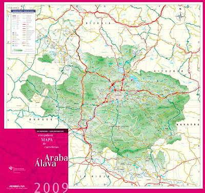 Alava Mapa Ciudad de la Región