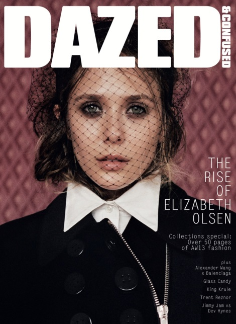 Elizabeth Olsen for Dazed & Confused September 2013 Cover