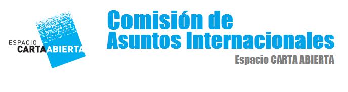 Carta Abierta Comision Internacional