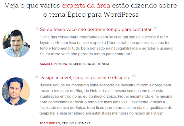 Epico tema para blogs wordpress