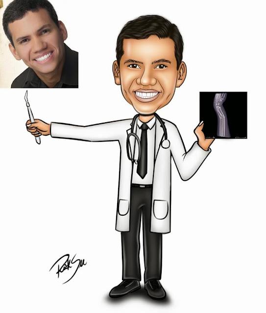 medicina com ricksu caricaturas