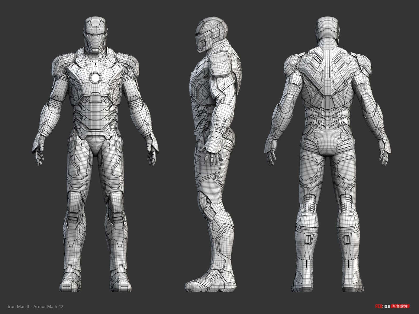 Iron Man 3 - armor Mark 42