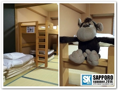 Sapporo Japan - Fing-Fing at Khaosan International Hostel インターナショナルホステルカオサン札幌