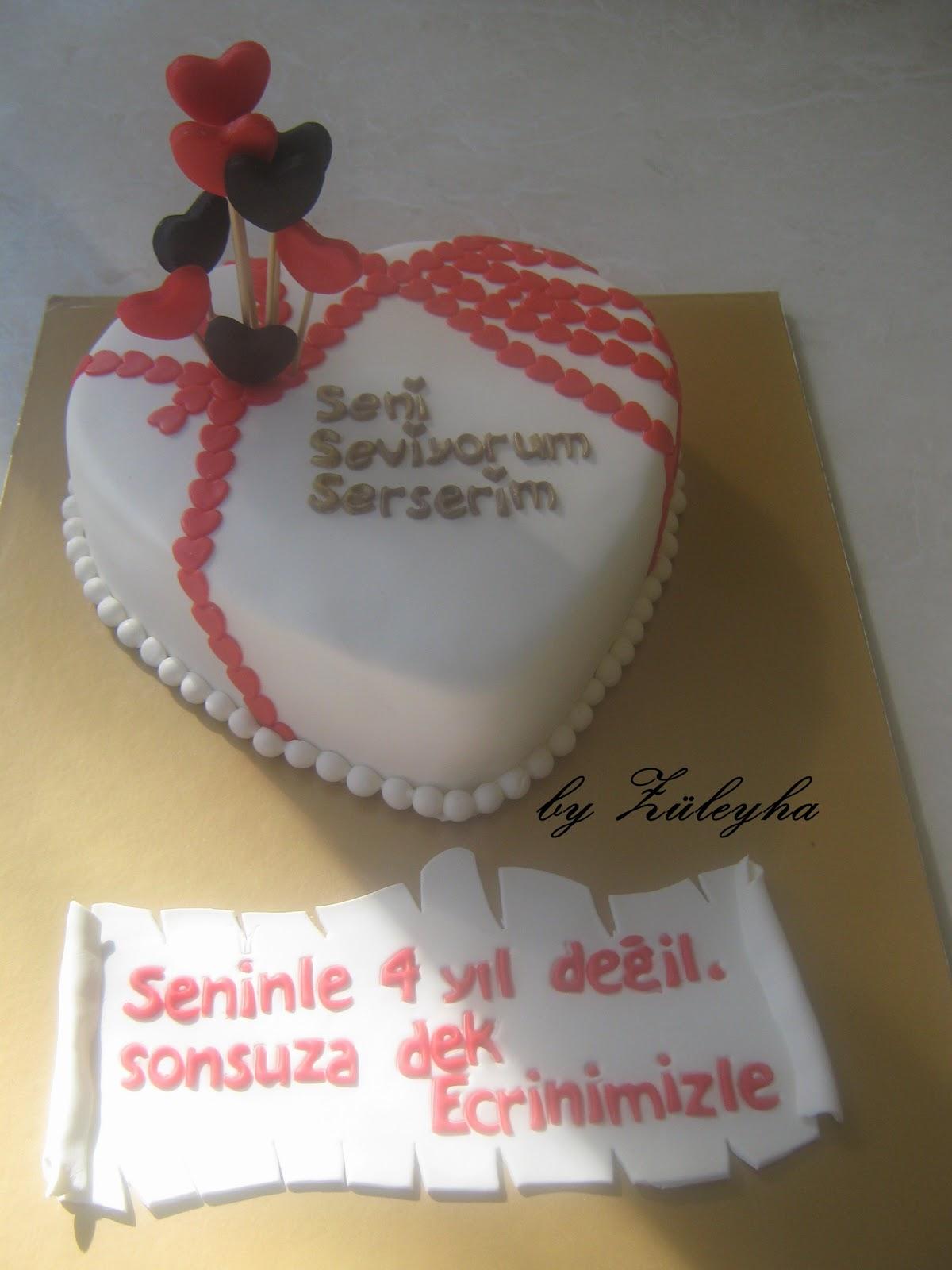 sevgiliye pasta,eşe pasta,evlilik yıldönümü pastası,pasta,şeker hamurlu pasta
