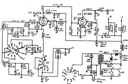 Circuito Oscilador : Valvulares circuitos circuito oscilador de frecuencia