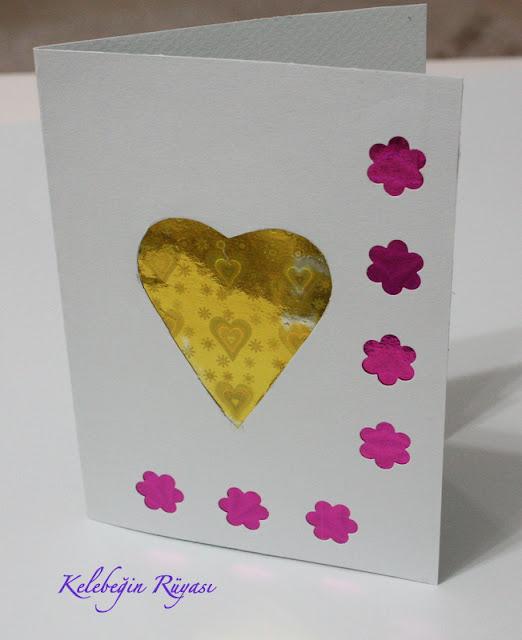 el yapımı hediye kartı