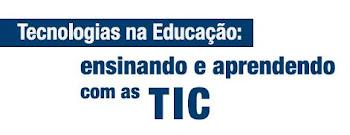 """Conteúdo on-line do curso """"Ensinando e Aprendo com as TIC"""