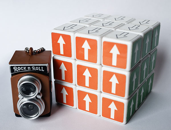 3x3x3 rubik arrow Camera Photo