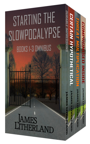 SLOWPOCALYPSE #1-3 AVAILABLE AT AMAZON