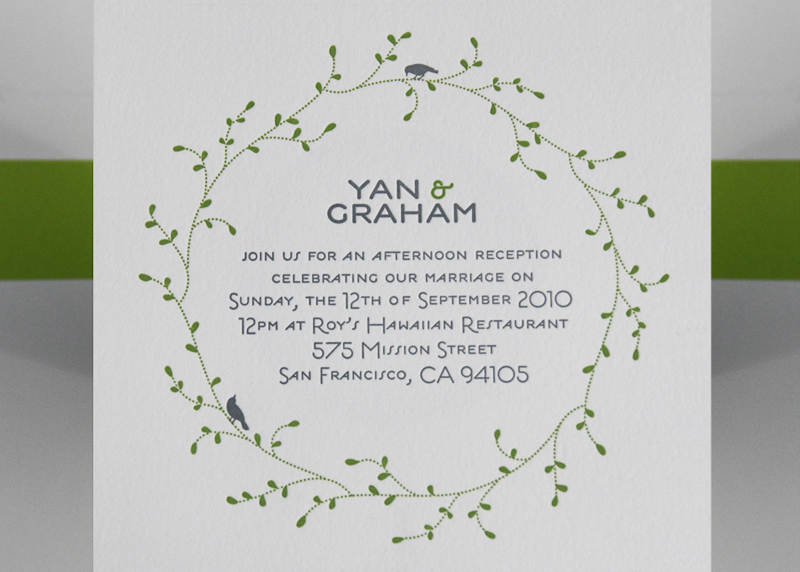 Nature Themed Wedding Invitations PAPER And PI Favorite Blogs