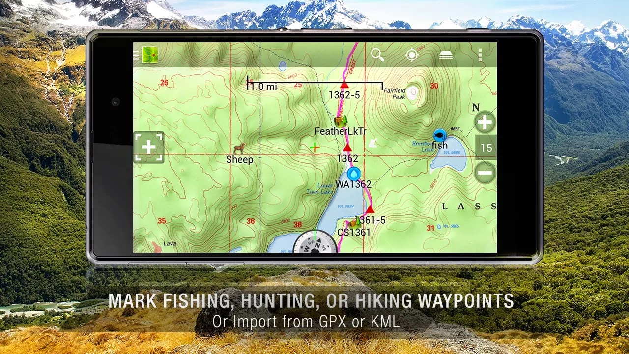 BackCountry Navigator PRO GPS v5.4.3