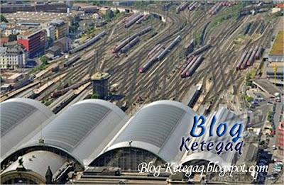 Struktur landasan kereta api paling serabut di dunia