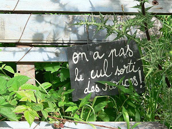 On verra au jardin je pique des id es ici et l for Idee pour le jardin