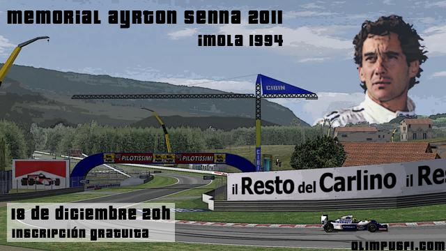 Memorial Ayrton Senna 2011 rFactor F1