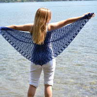 Shale Beach Shawl Wingspan