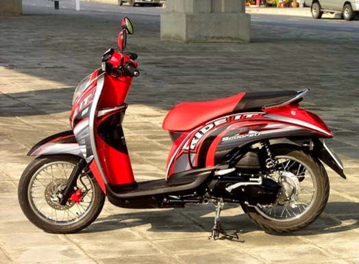 Modifikasi Honda Scoopy 2011
