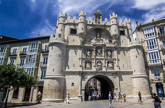 El burgalés: ARCO DE SANTA MARIA (Burgos)