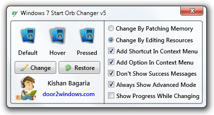 how to change windows sens to 5 11