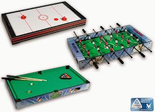 Mini hokej lub mini piłkarzyki lub Mini bilard z Biedronki