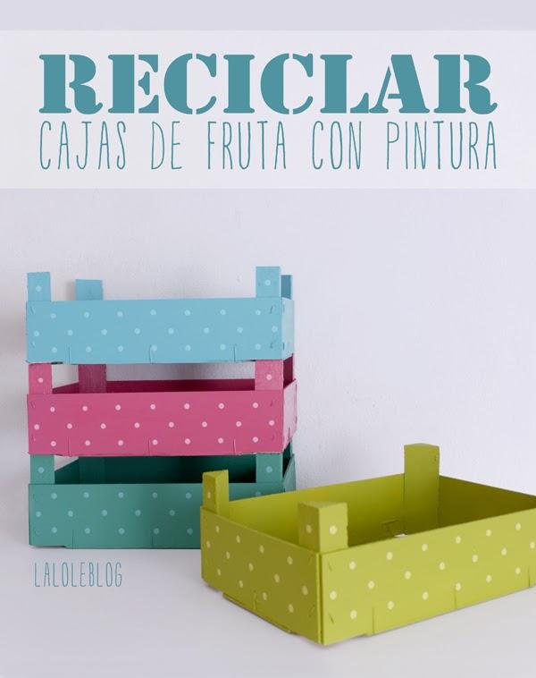Con ojos de canica reciclar cajas de fruta - Cajas de fruta recicladas ...