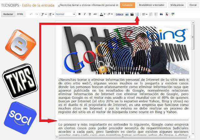 Activa la opción de entrada resumida en blogger para facilitar la carga del blog