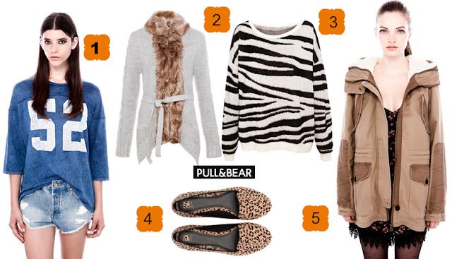 Las mejores prendas de Pull And Bear otoño 2013