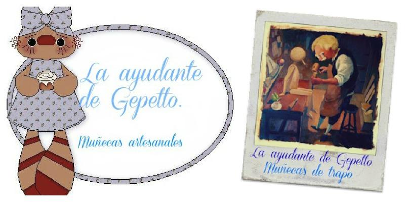 La ayudante de Gepetto.Muñecas artesanales