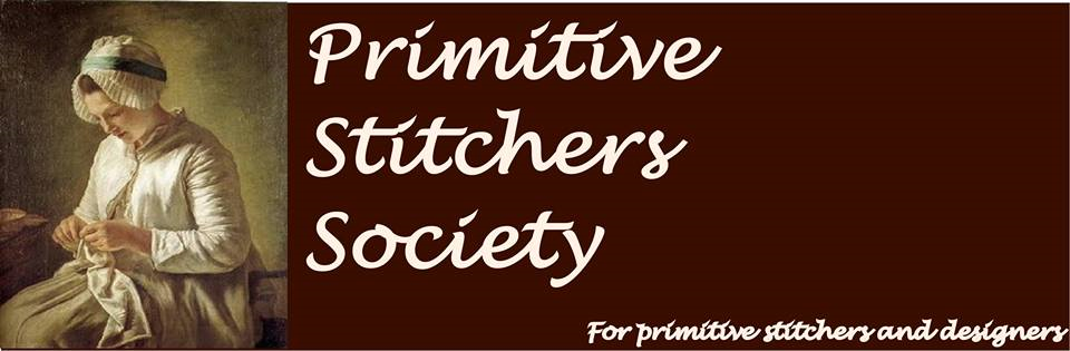 I'm a member of Primitive Stitchers Society