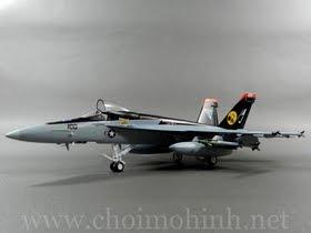 Máy bay mô hình tĩnh F-18E Super Hornet US Navy hiệu Witty Wings tỉ lệ 1:72
