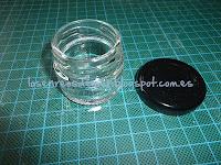 Tarro de cristal sin etiqueta