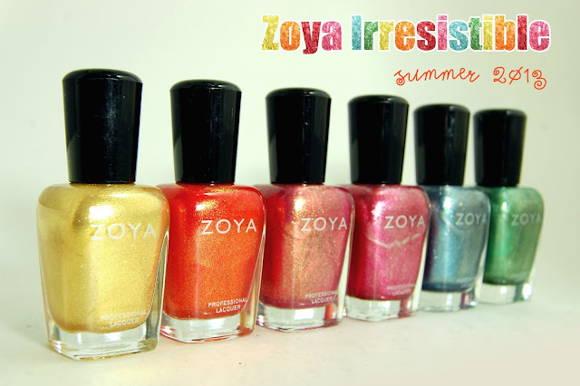 Zoya Irresistible Summer 2013 Nail Polish Collection