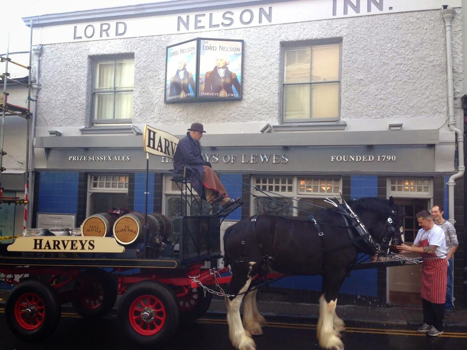 Real Ale delivery!