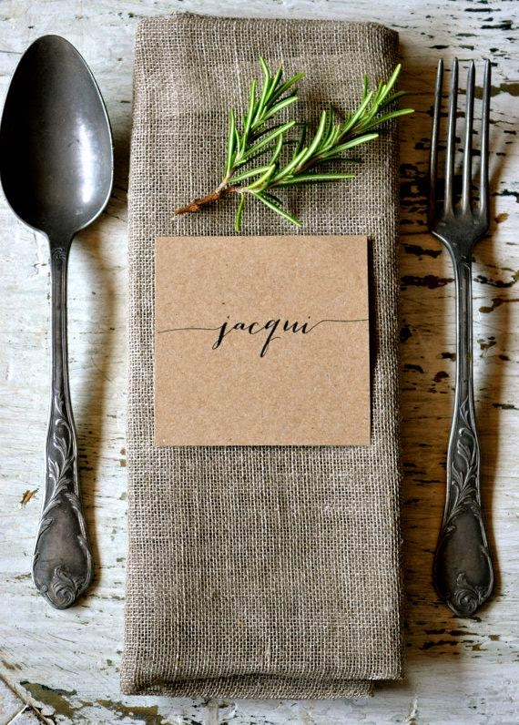 10 Ideas for Rustic Table Setting. Via Local Milk Blog & 20 Tips and Ideas for Rustic Table Settings - How To: Simplify