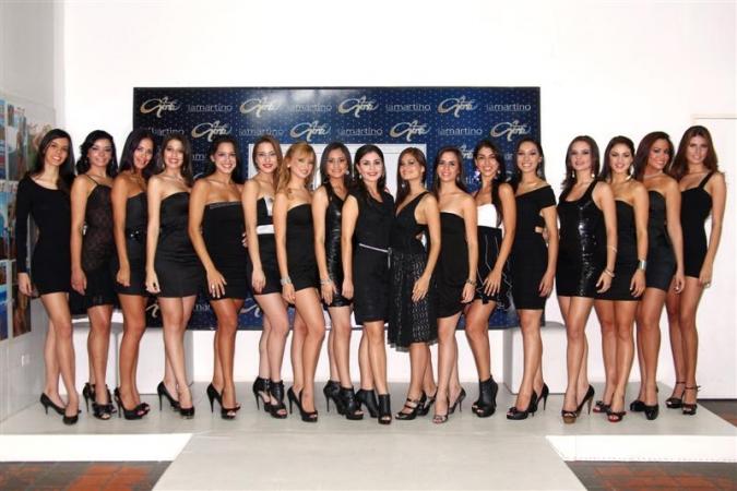 Reinas Paraguayas Del Bicentenari Miss Paraguay 2011 Contestants