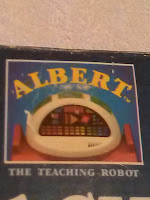 Albert the teaching robot cover showing Albert