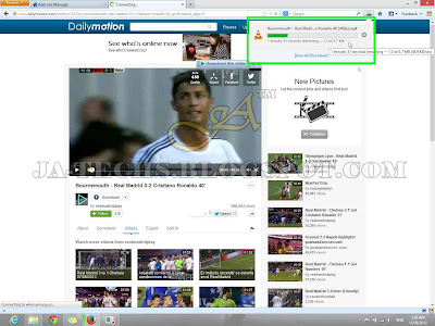 Downloading Video Clips from DailyMotion - Tutorial Step 9