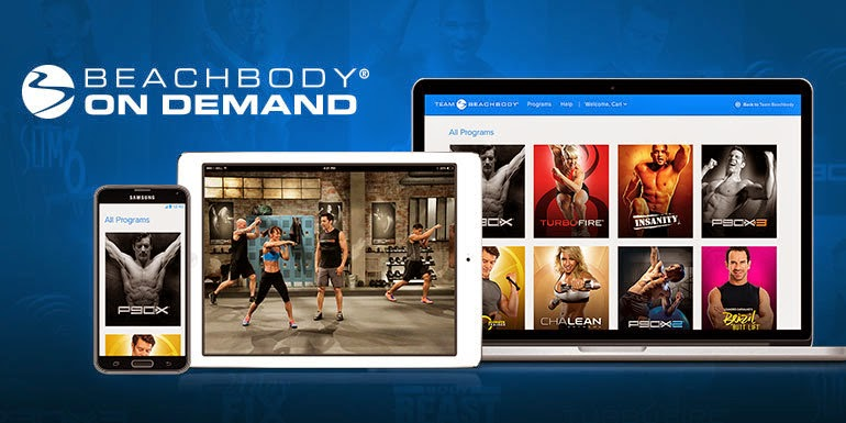 beachbody on demand, streaming workouts, jaime messina