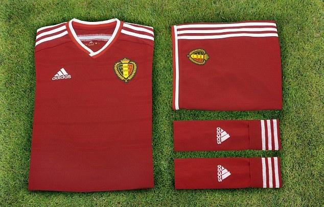 Kết quả hình ảnh cho TRANG PHỤC THI ĐẤU CÁC ĐỘI TUYỂN Đội tuyển Bỉ TẠI EURO 2016 – BẢNG E