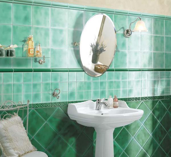 Imagenes De Baños Verdes:Diseño de Baños de color Verde – Varias Ideas : Baños y Muebles