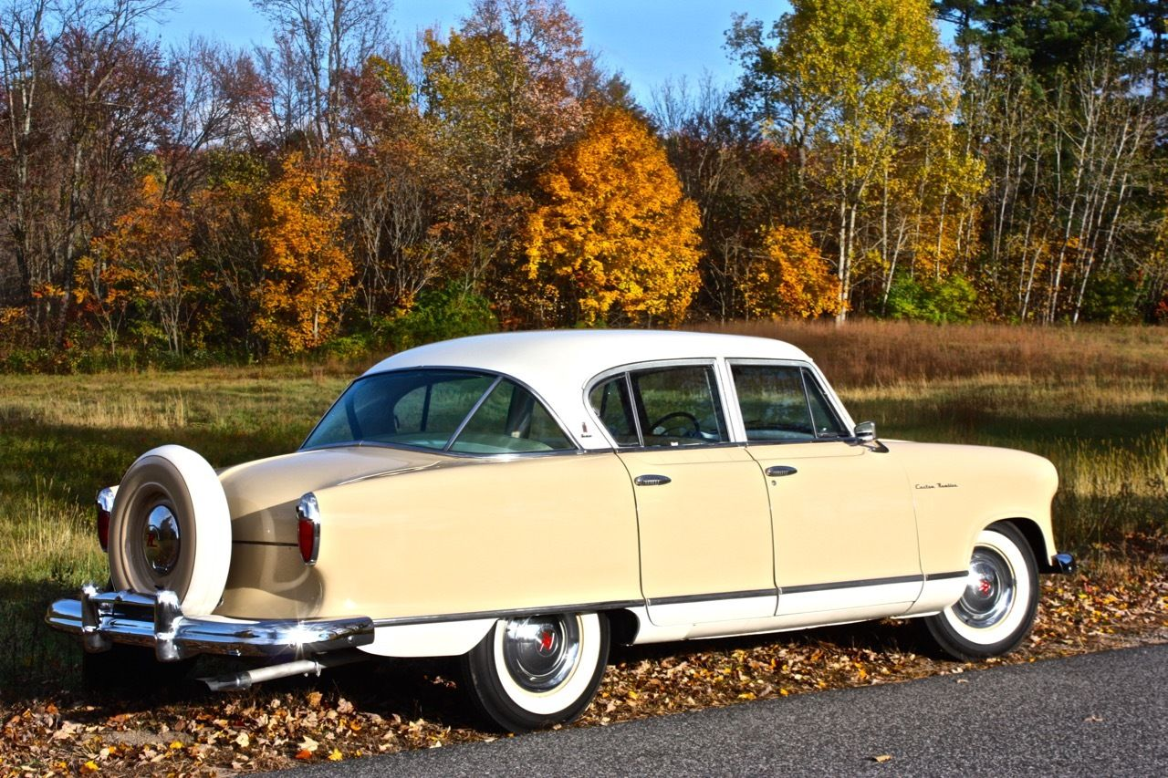 All american classic cars 1955 hudson nash rambler for American classic cars