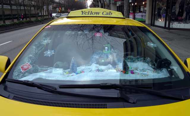 The Christmas Taxi in Vancouver