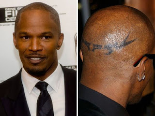 My tattoo shop photo gallery for Head tattoo hairline