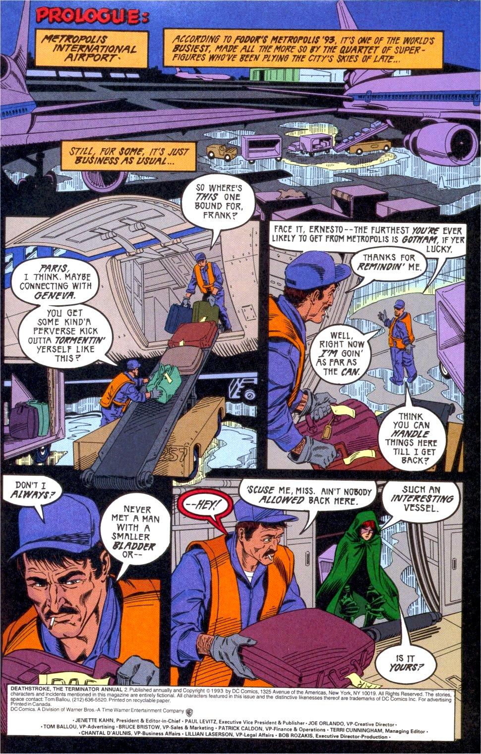 Deathstroke (1991) Annual 2 #2 - English 2