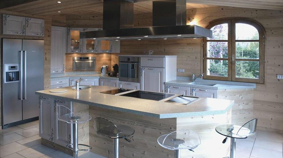 Meuble De Cuisine Style Montagne ~ Idées de Design Maison et Idées ...