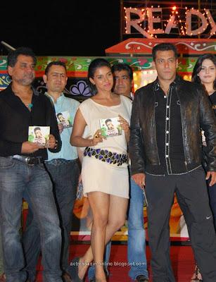 Asin salmankhan at Ready movie audio launch stills