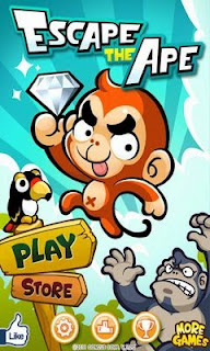 Screenshots of the Escape The Ape for Android tablet, phone.