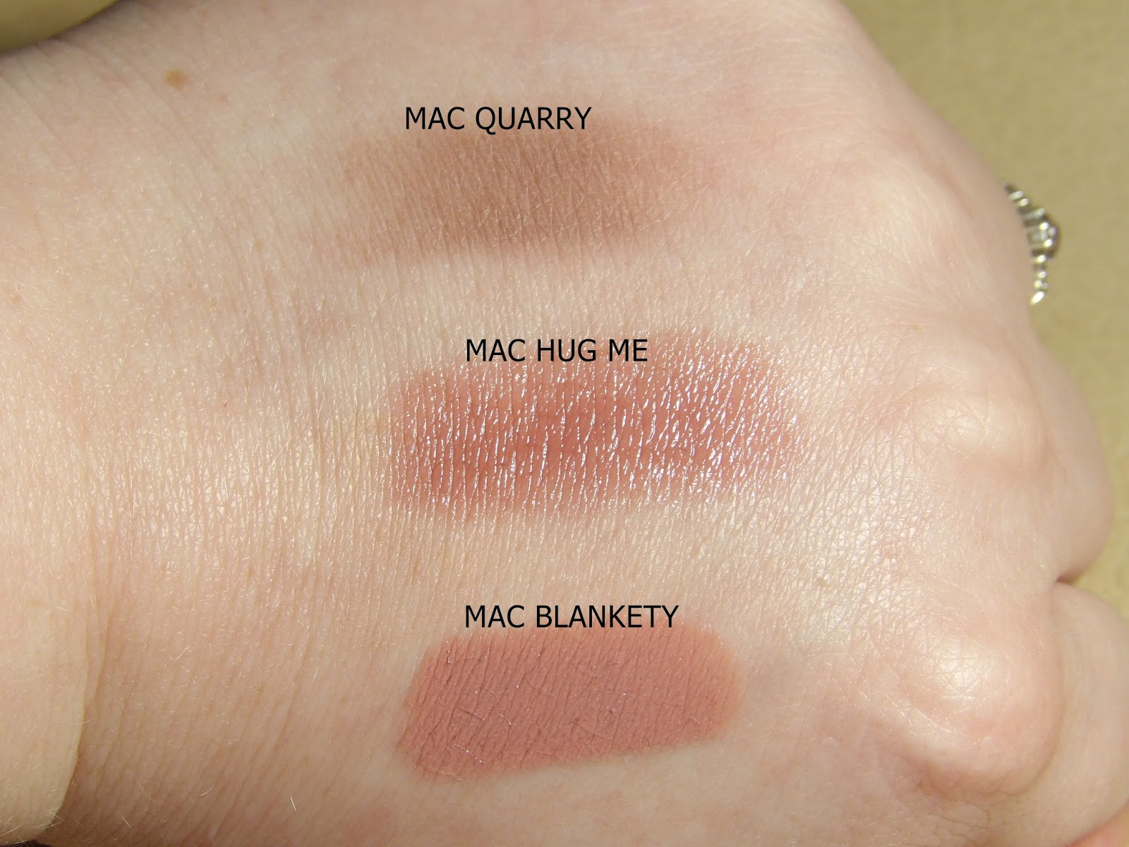 MAC'S QUARRY, HUG ME AND BLANKETY